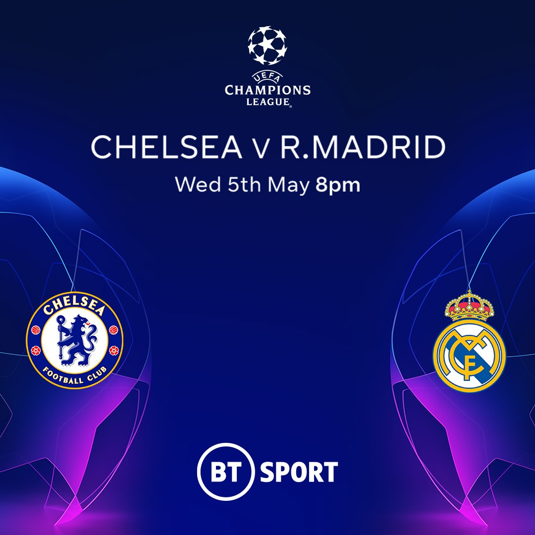 Chelsea v Real Madrid (Champions League)