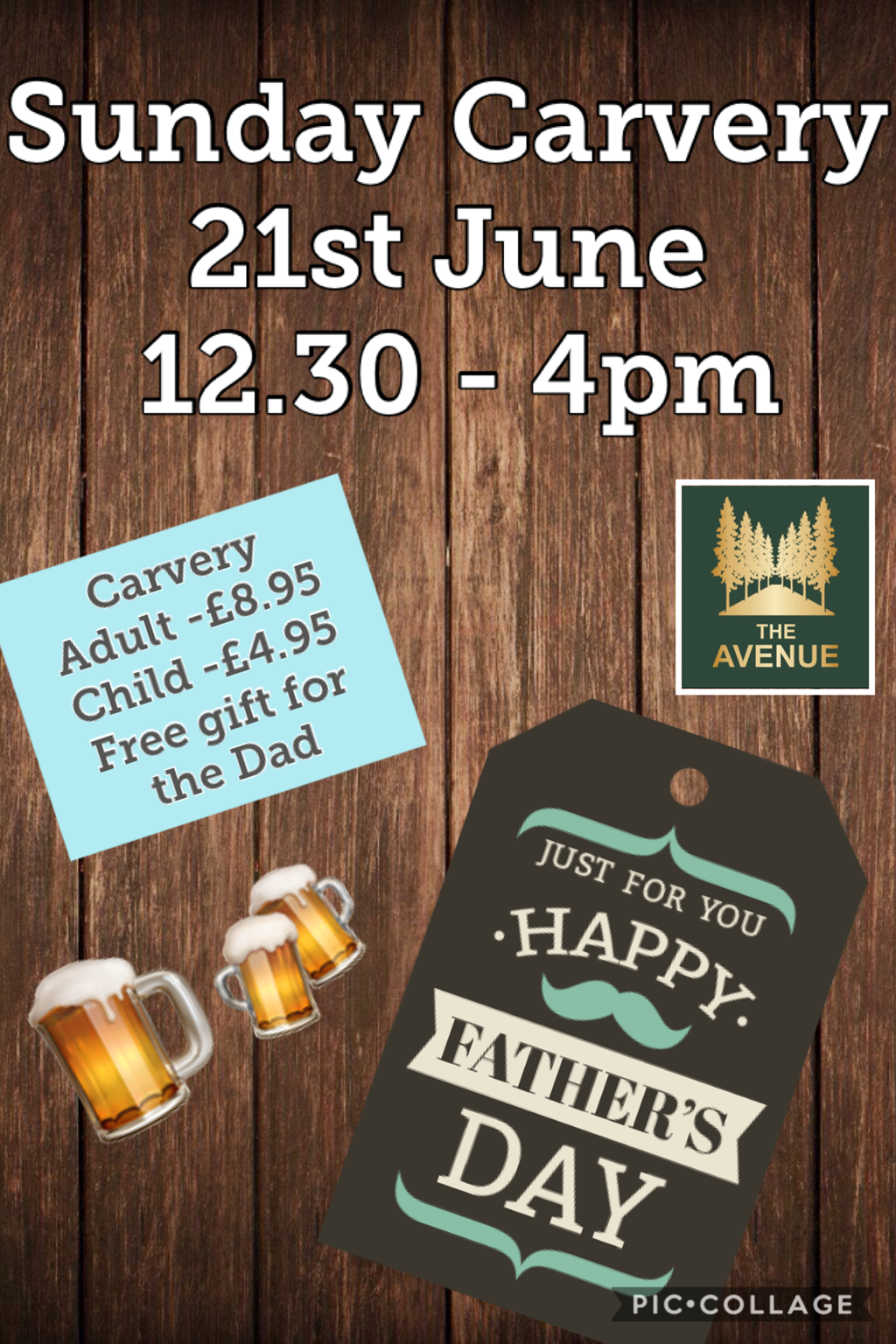 Fathers Day Carvery