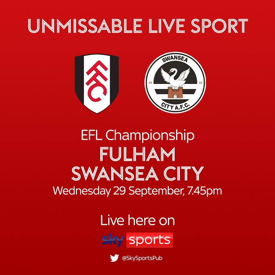 Fulham v Swansea City (Football League)