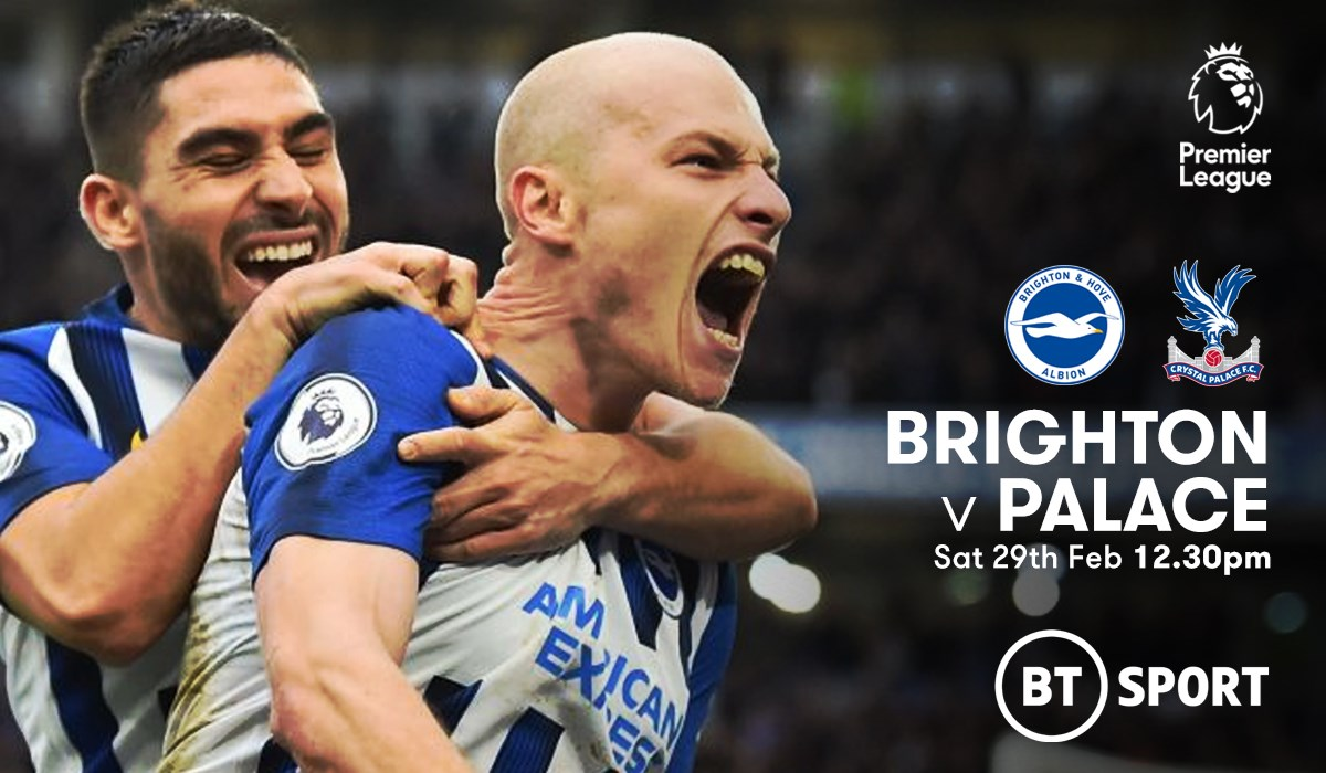 Brighton & Hove Albion v Crystal Palace (Premier League)