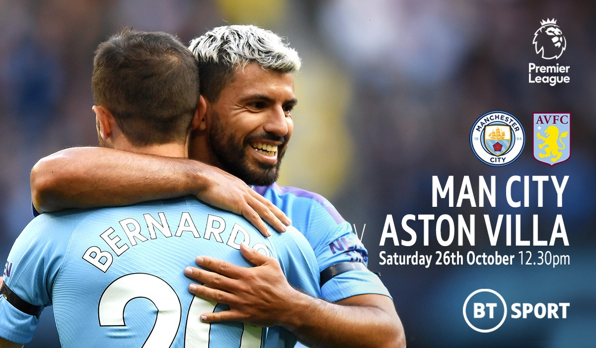 Manchester City v Aston Villa (Premier League)