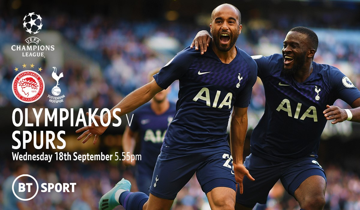 Olympiacos v Tottenham (Champions League)