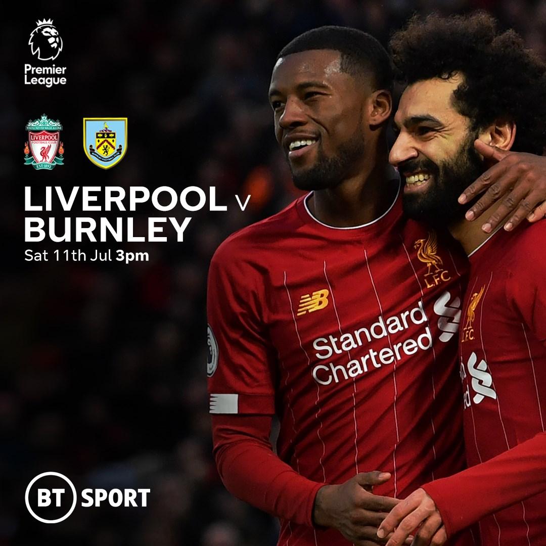 Liverpool v Burnley (Premier League)