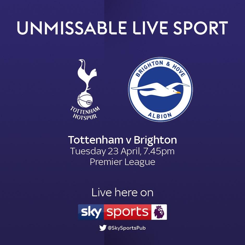 Tottenham Hotspur v Brighton and Hove Albion (Premier League)