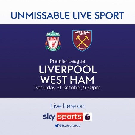 Liverpool v West Ham (Premier League)