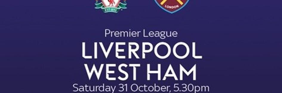 Liverpool v West Ham (Premier League)