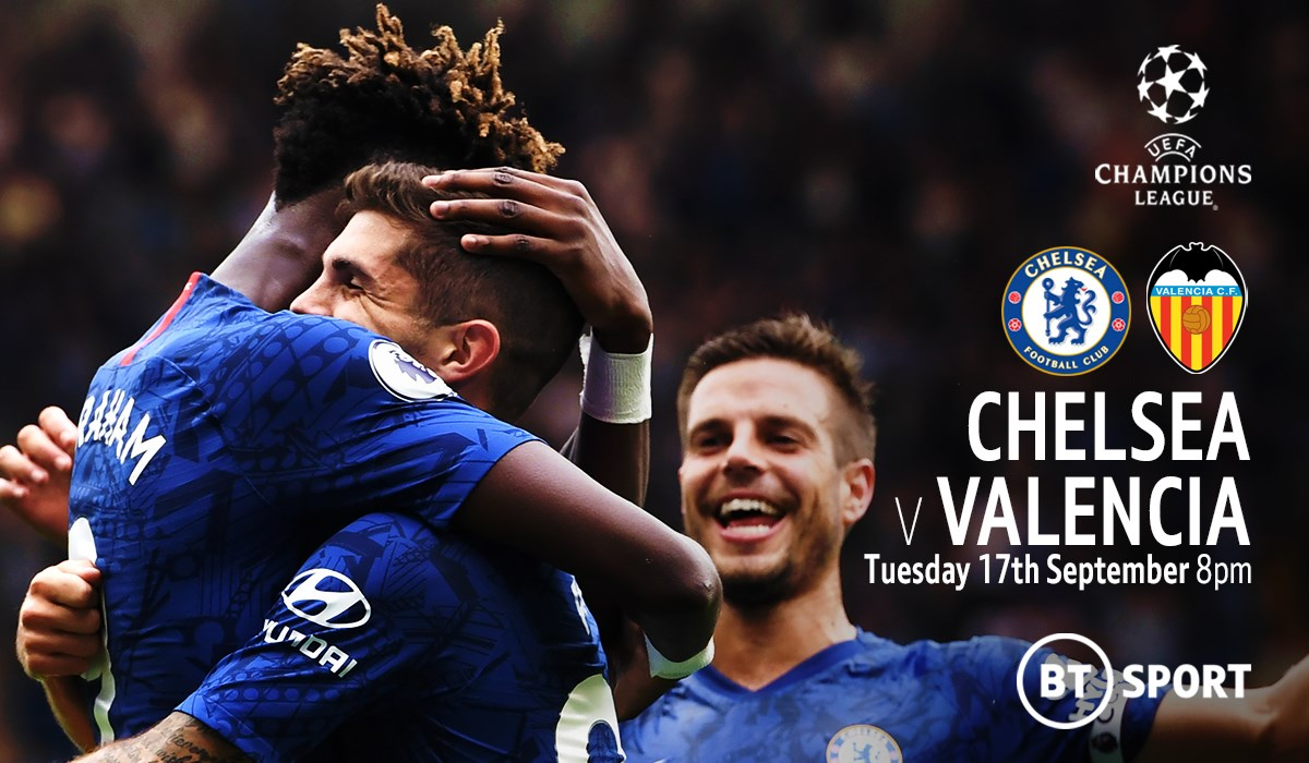 Chelsea v Valencia (Champions League)