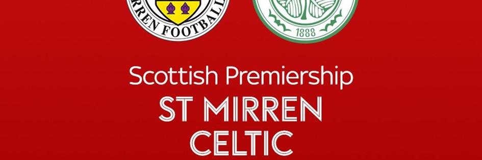 St Mirren v Celtic (Scottish Premier League)