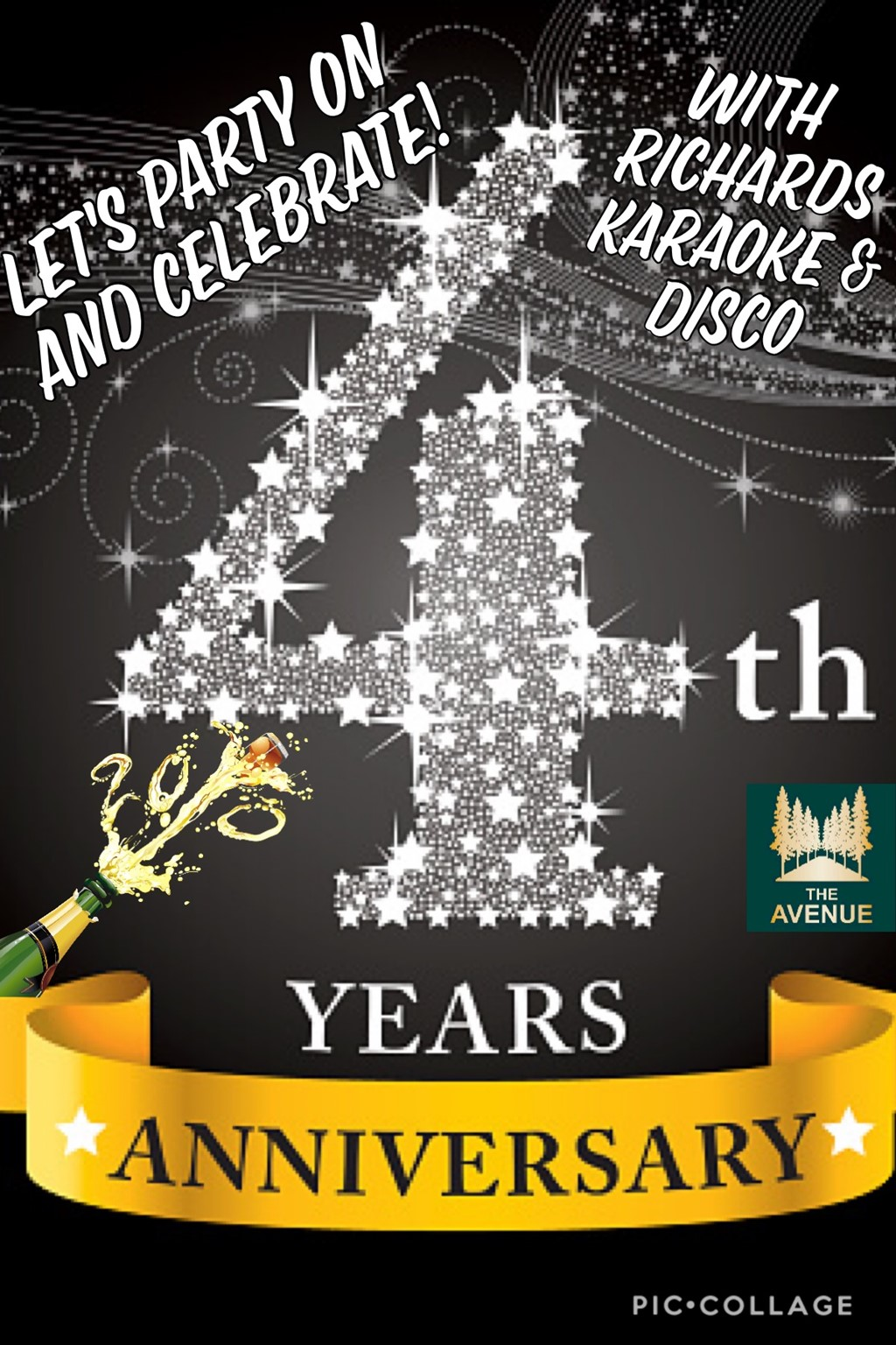 Join us to celebrate our 4th Year Party