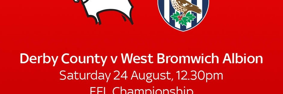 Derby County v West Bromwich Albion (Football League)