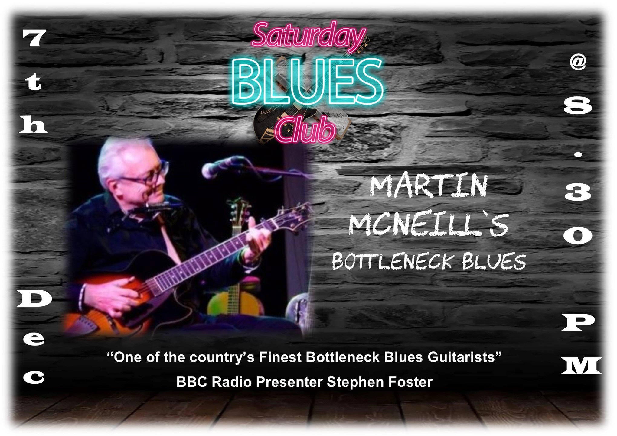 Blues @ The Bell presents Martin McNeill's Bottleneck Blues