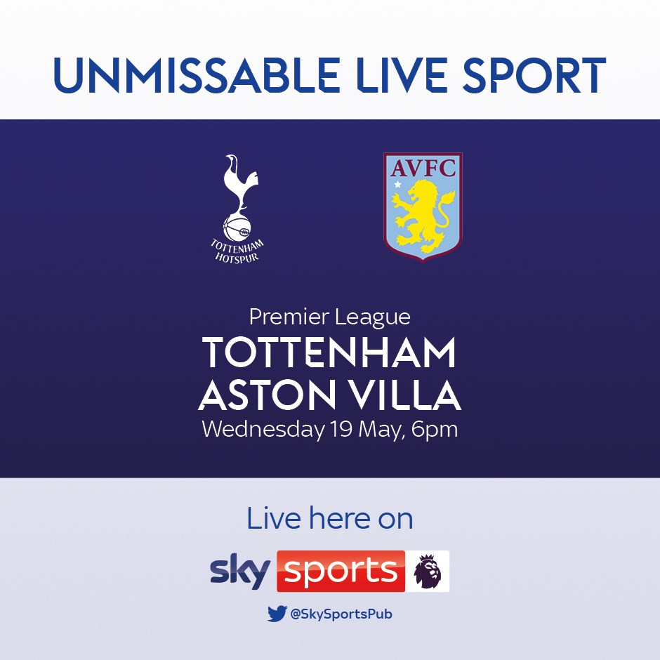 Tottenham Hotspur v Aston Villa (Premier League)