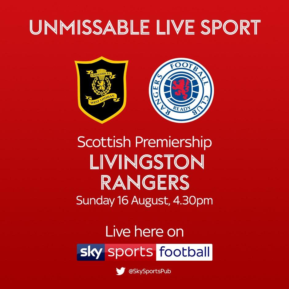 Livingston v Rangers (Scottish Premier League)