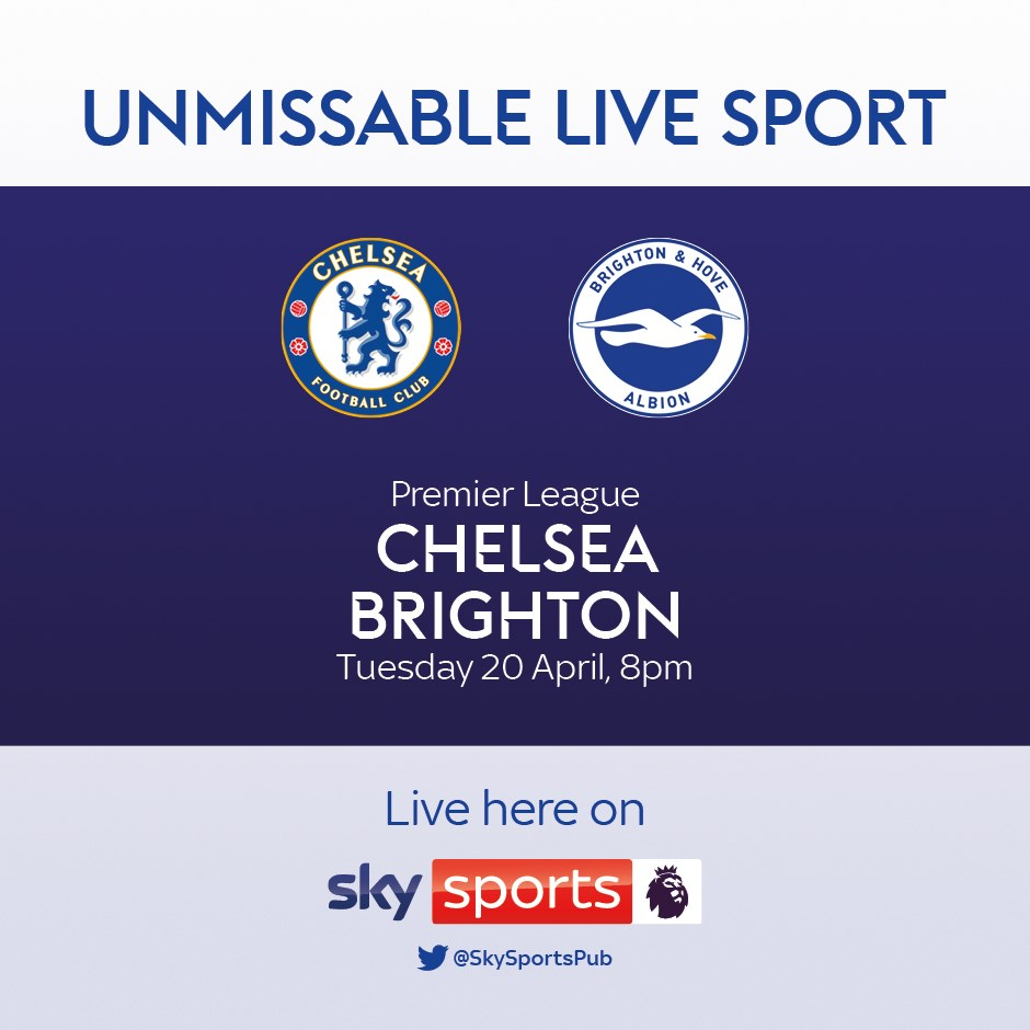 Chelsea v Brighton and Hove Albion (Premier League)