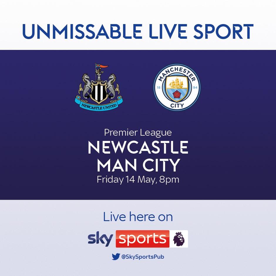 Newcastle United v Manchester City (Premier League)