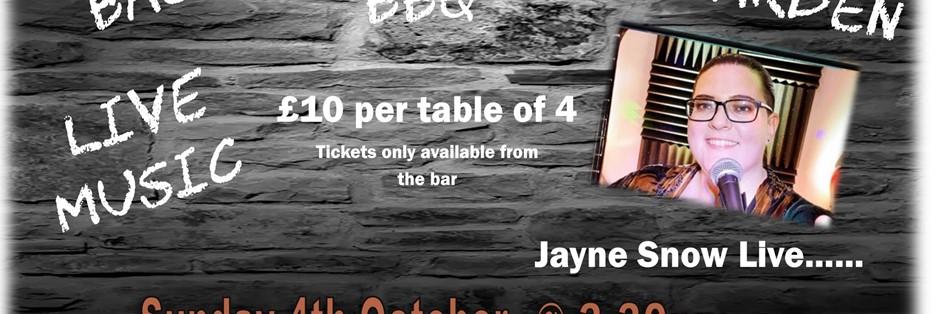 Sunday Live Music with Jayne Snow