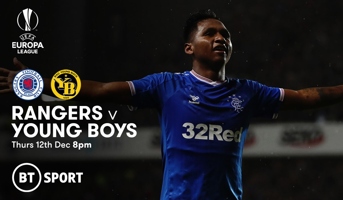 Rangers v Young Boys (Europa League)