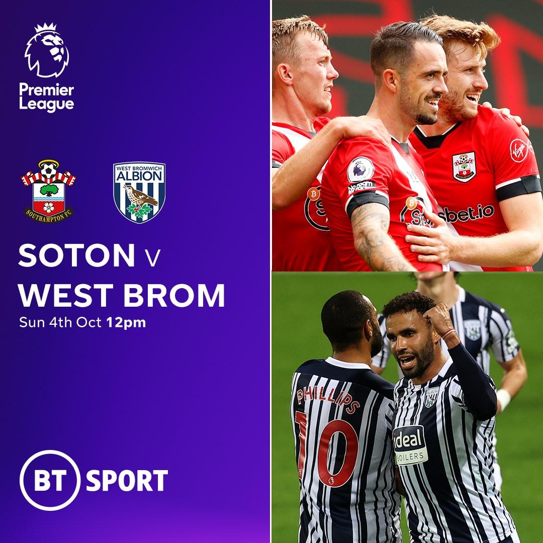 Southampton v West Brom (Premier League)