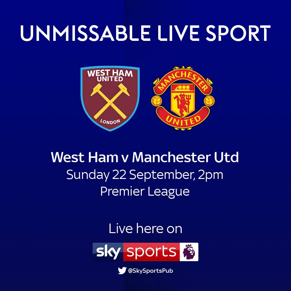 West Ham United v Manchester United (Premier League)