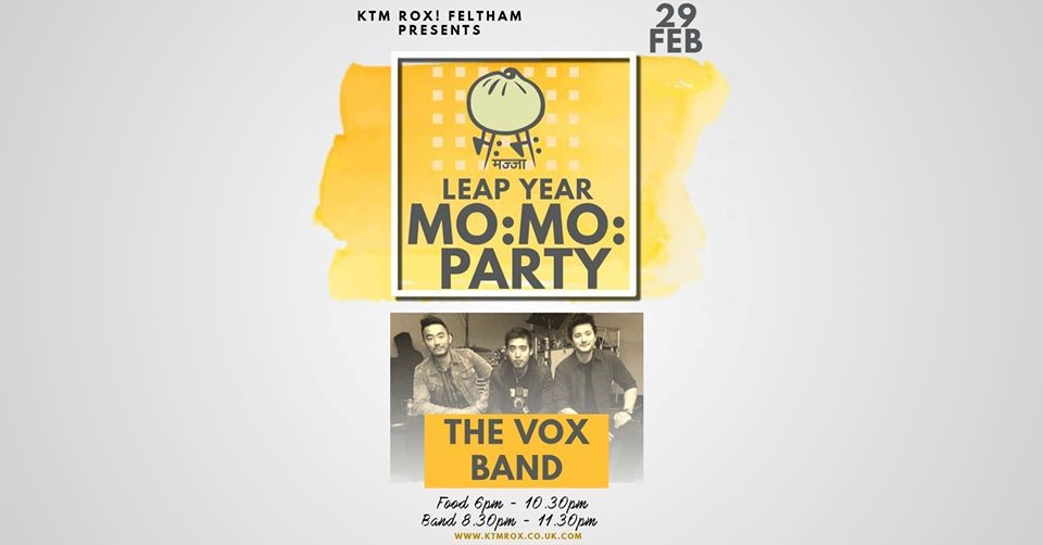 Leap Year Momo Party with The Vox Band