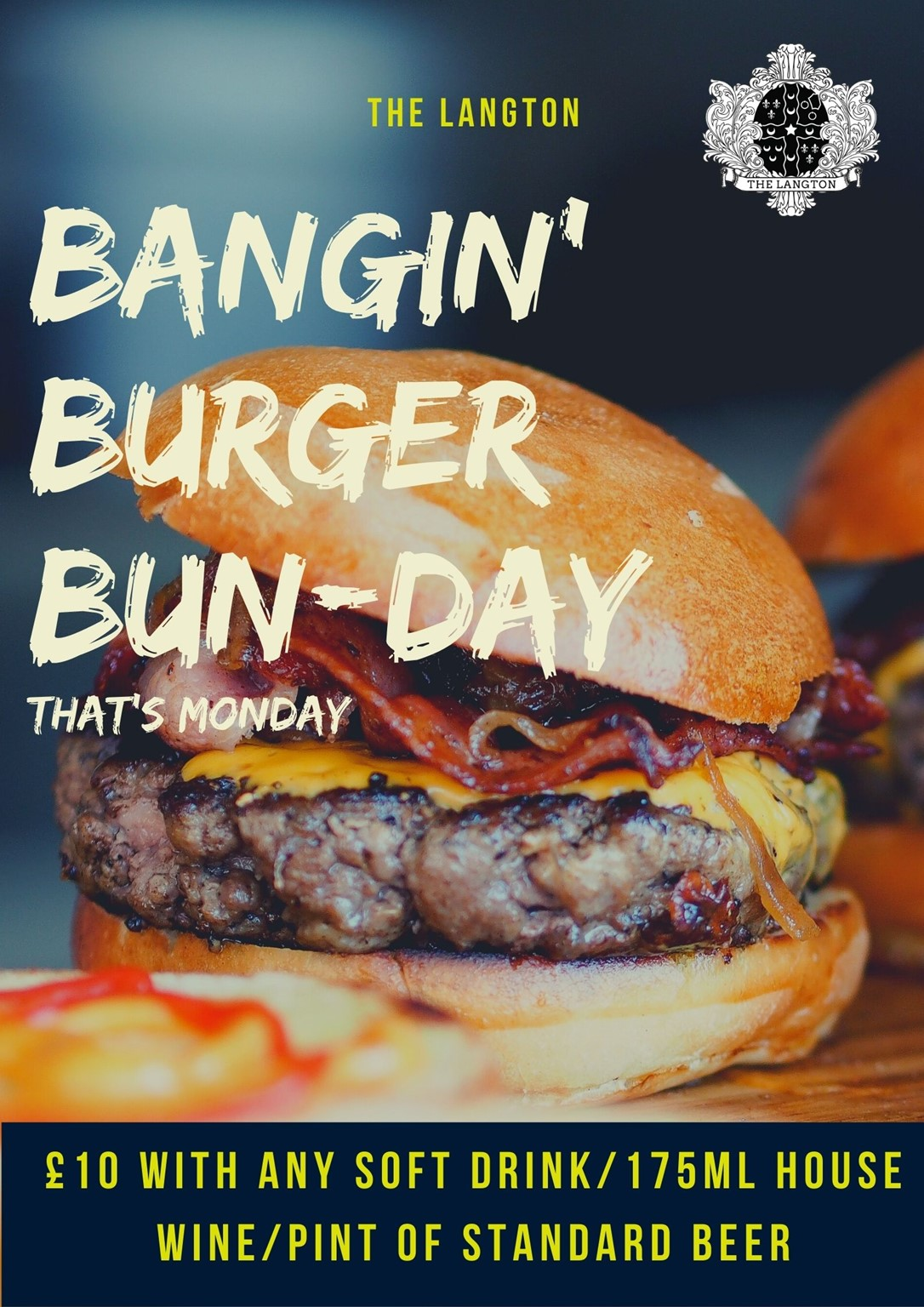 Burger and a Beer £10