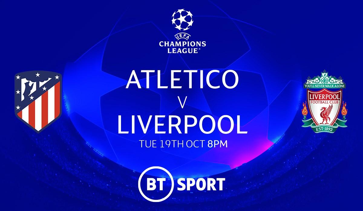 Atletico Madrid v Liverpool (Champions League)