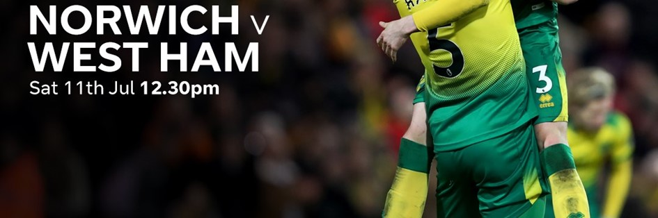 Norwich City v West Ham (Premier League)