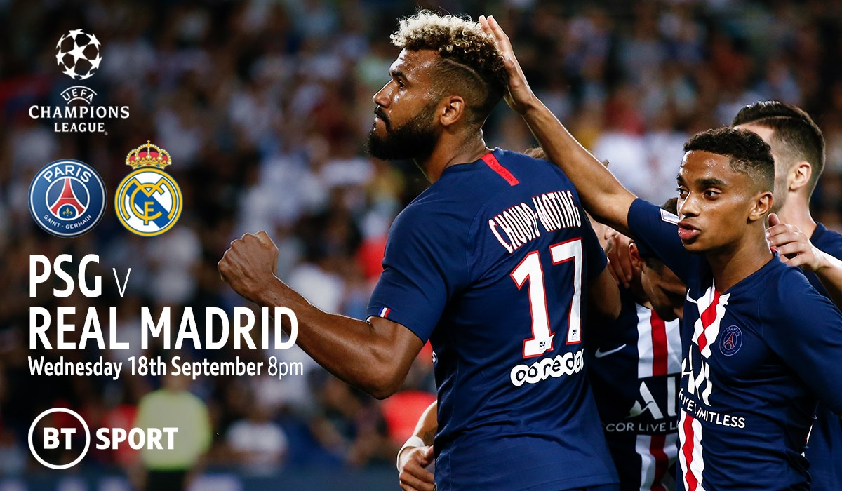 PSG v Real Madrid (Champions League)