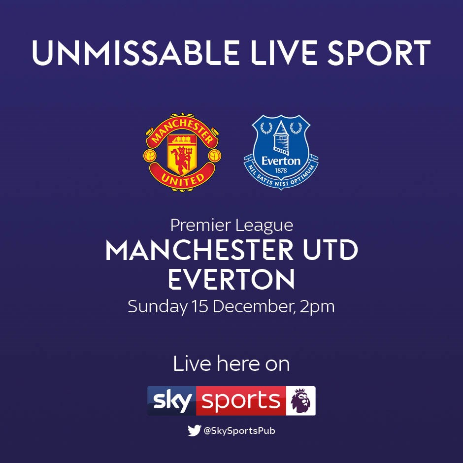 Manchester United v Everton (Premier League)
