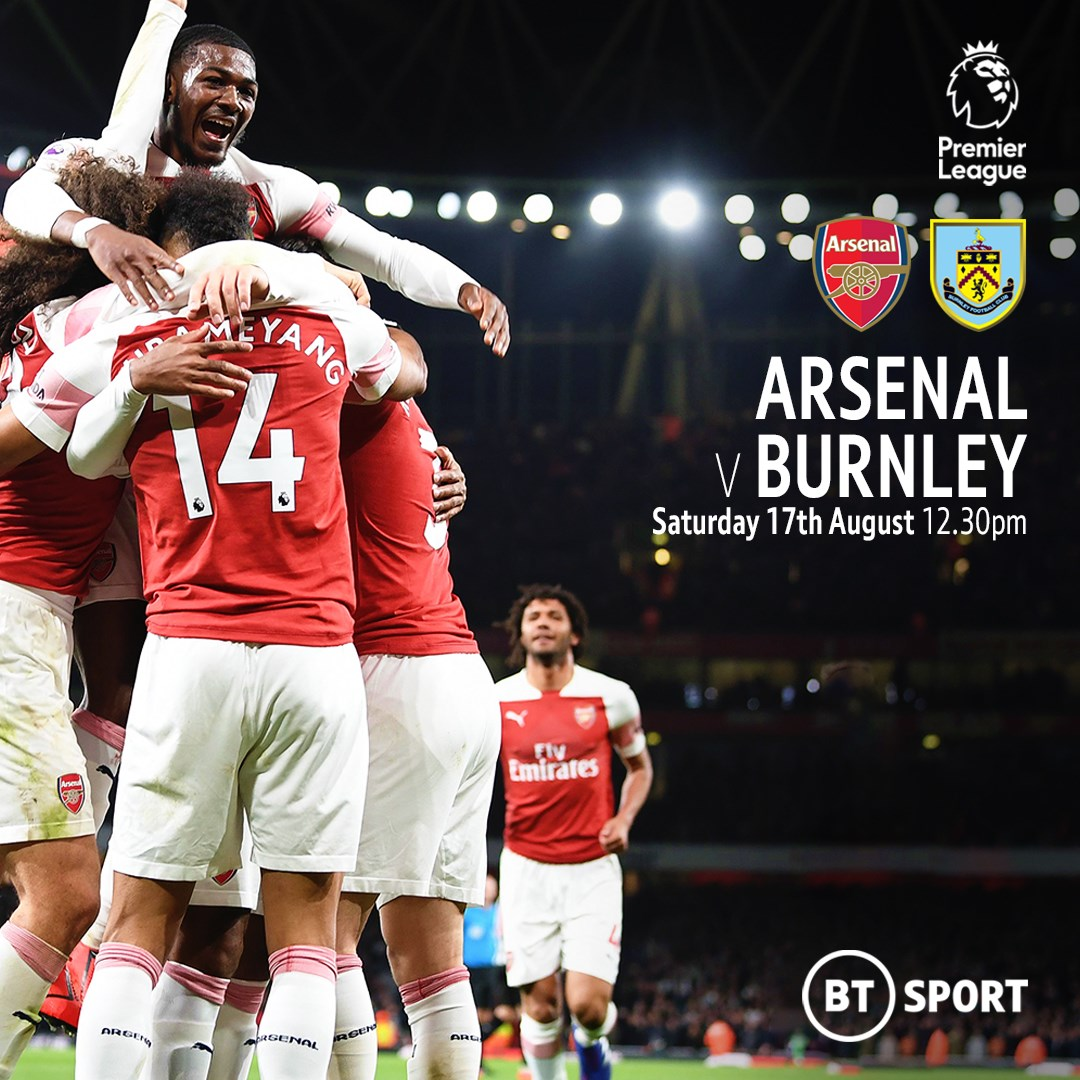 Arsenal v Burnley (Premier League)