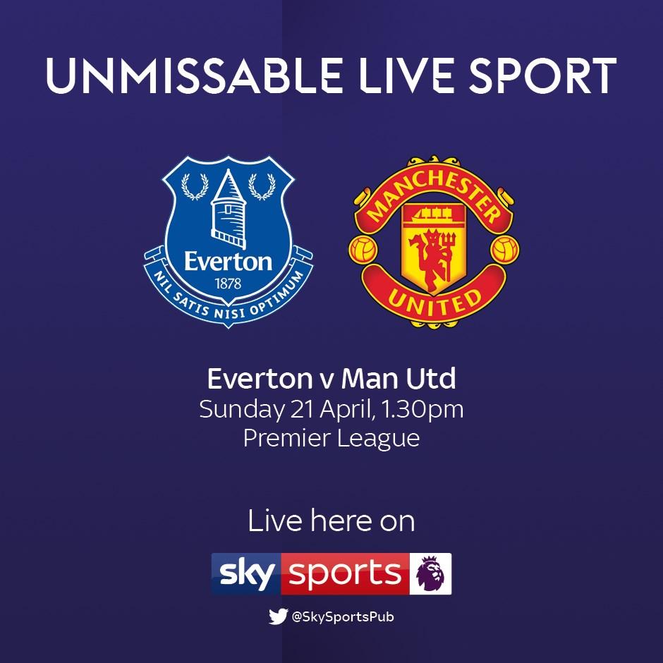Everton v Manchester United (Premier League)