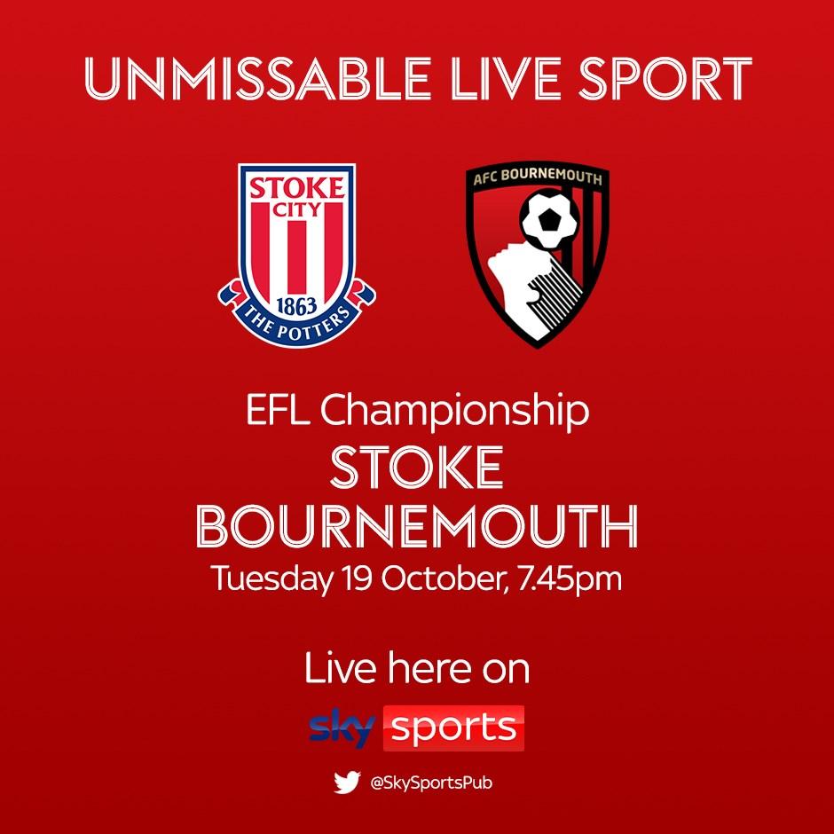 Stoke City v AFC Bournemouth (Football League)