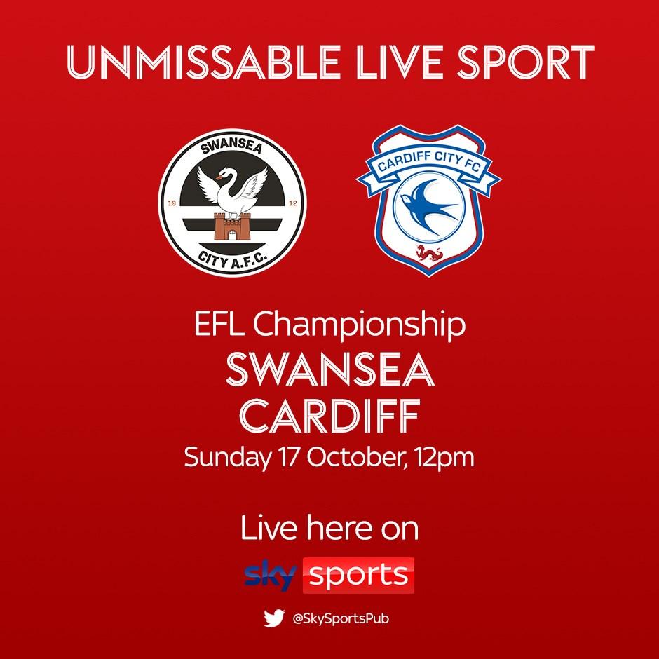 Swansea City v Cardiff City (Football League)