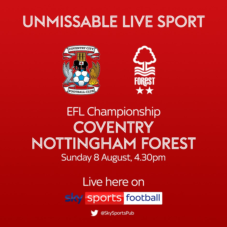 Coventry City v Nottingham Forest (Football League)