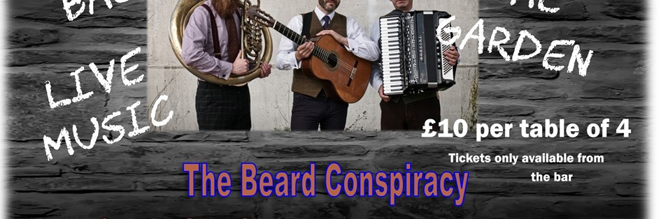 Sunday Live Music with The Beard Conspiracy