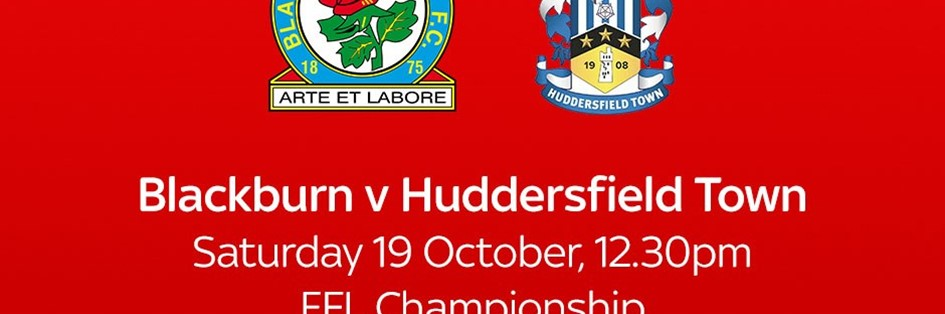Blackburn Rovers v Huddersfield Town (Football League)