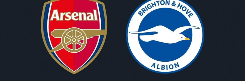 Arsenal V Brighton & Hove Albion (Premier League)