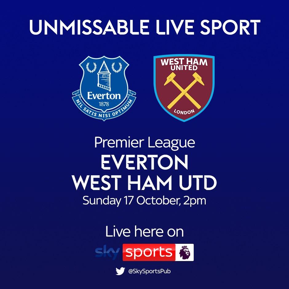 Everton v West Ham United (Premier League)