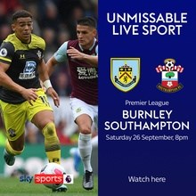 Burnley v Southampton (Premier League)