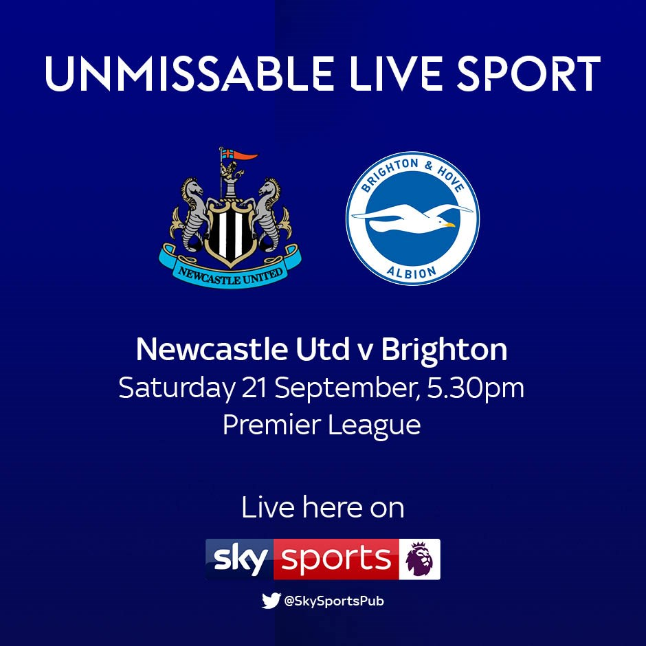 Newcastle United v Brighton and Hove Albion (Premier League)
