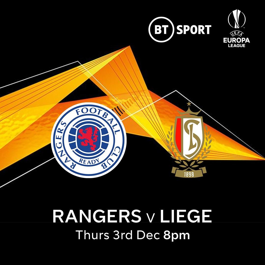 Rangers v Standard Liege (Europa League)