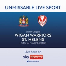 Wigan v St Helens (Rugby League - Grand Final)