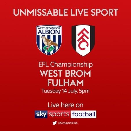 West Brom v Fulham (Football League)