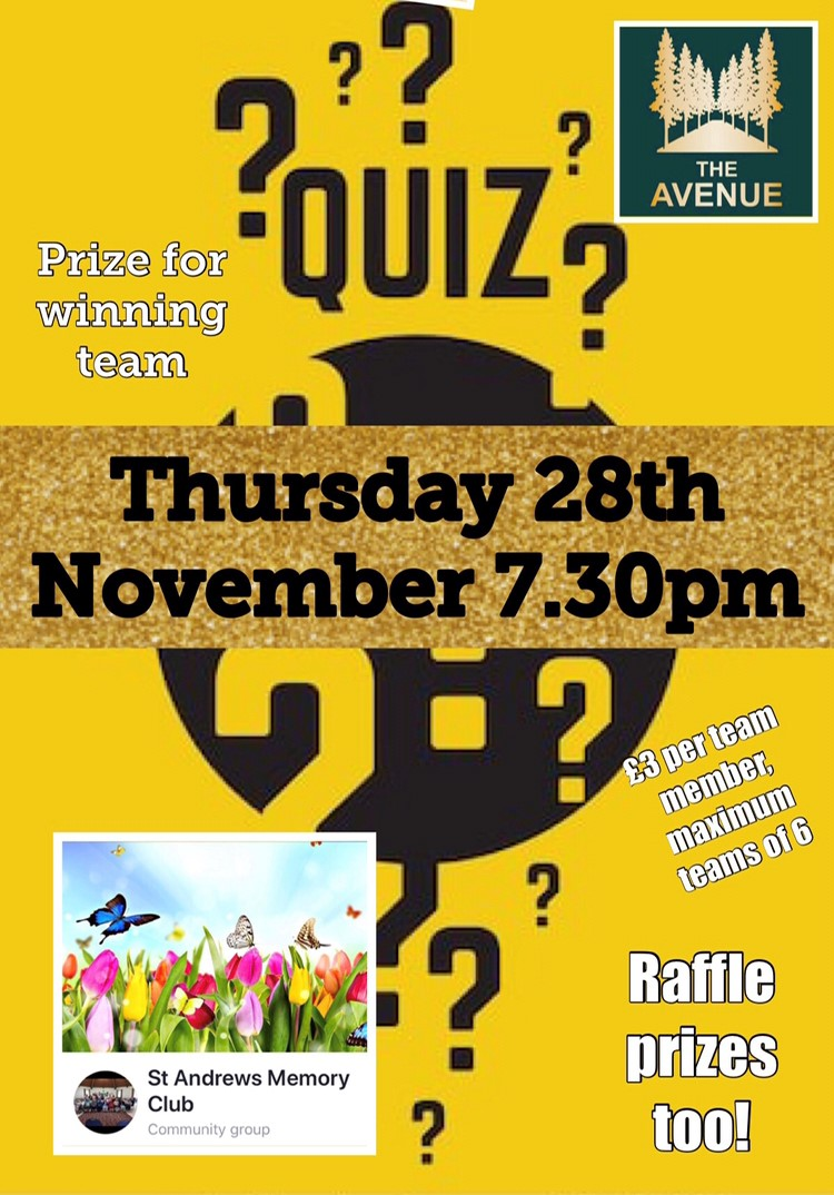 Our monthly quiz x