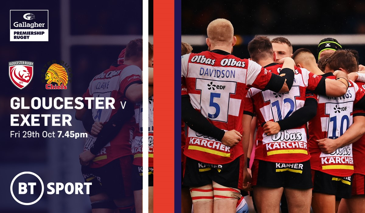 Gloucester Rugby v Exeter Chiefs (Rugby Union - English Premiership)