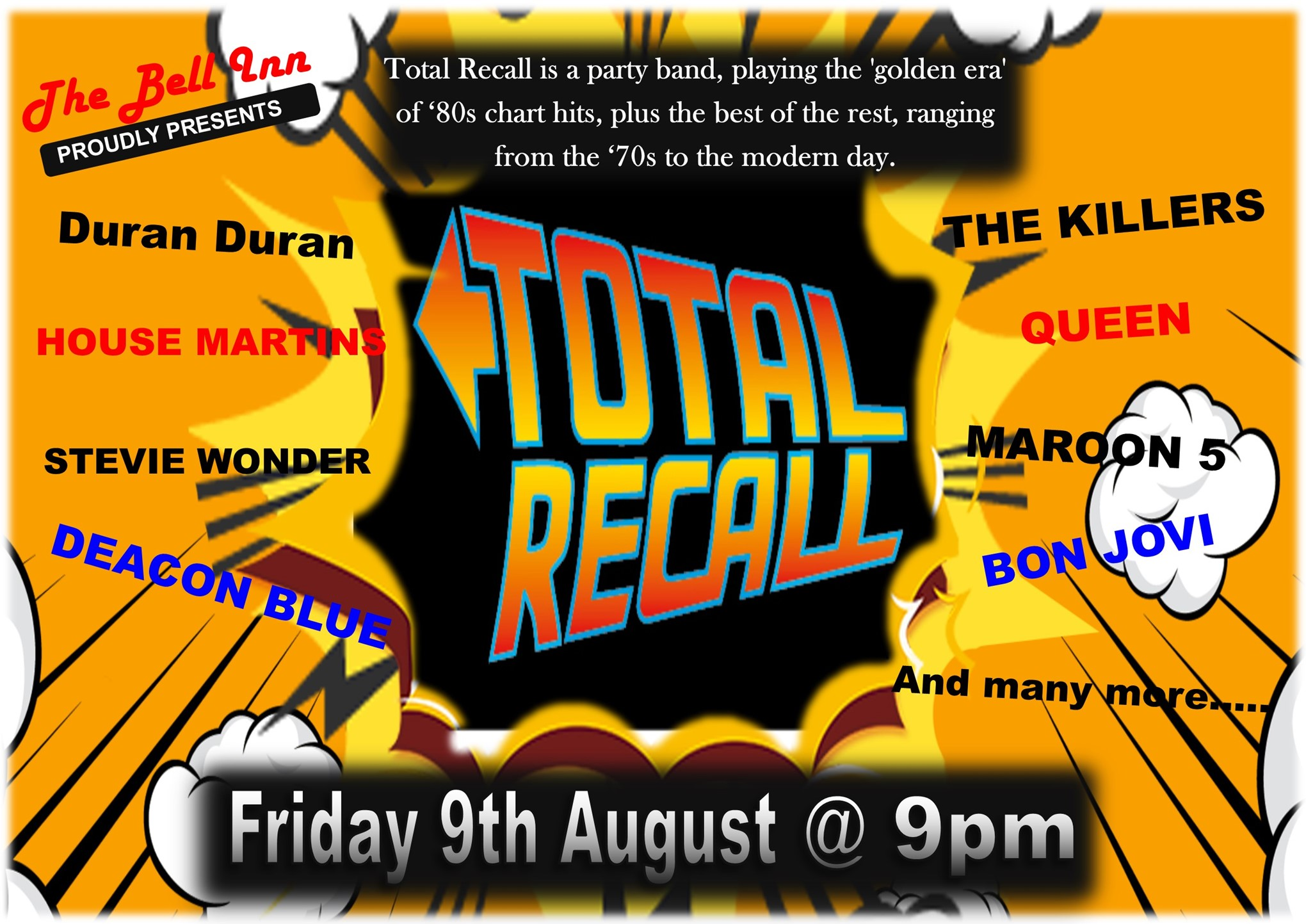 Live Music with Total Recall