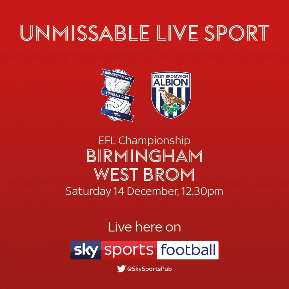 Birmingham City v West Bromwich Albion (Football League)