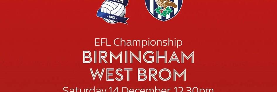 Birmingham City v West Bromwich Albion (Football League)