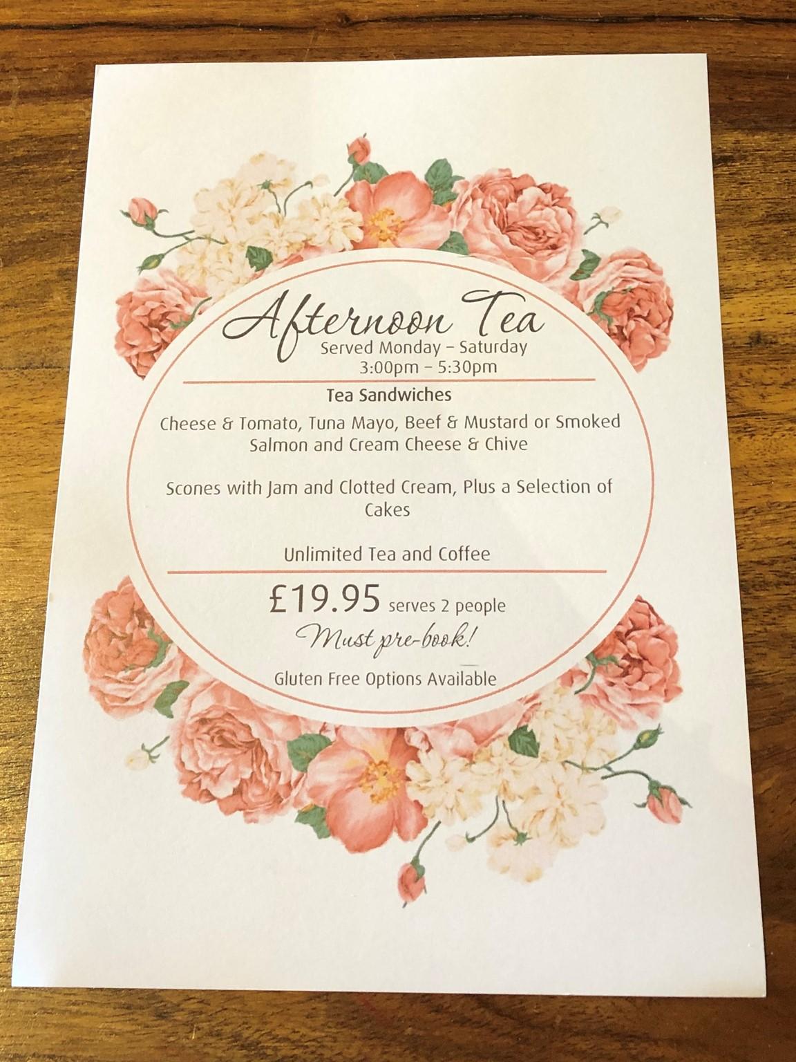 Aternoon teas
