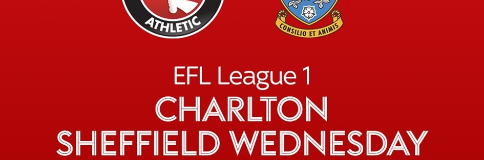 Charlton v Sheffield Wednesday (Football League)